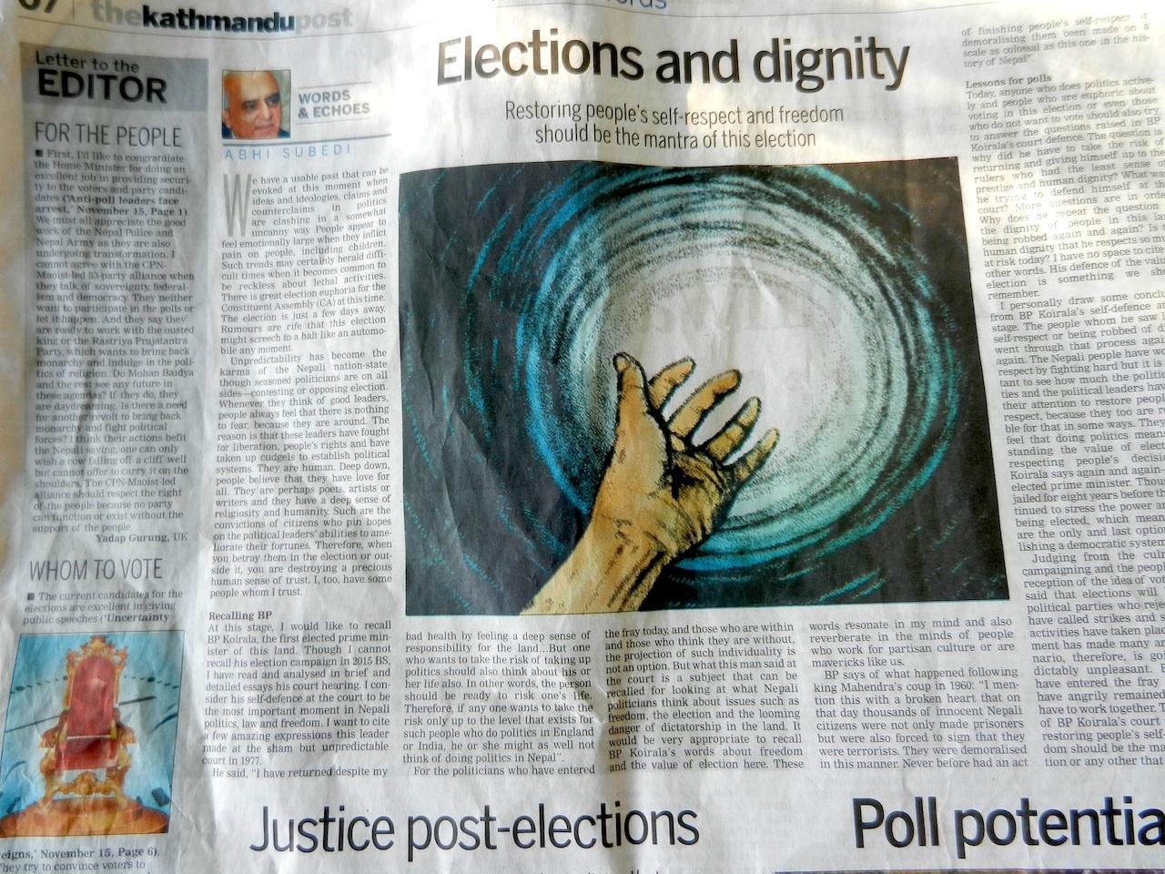 Kathmandu Post_election