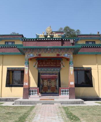 Das Kloster Nagi Gumba, wo Karmalaya-Reisende ihre Auszeit haben.