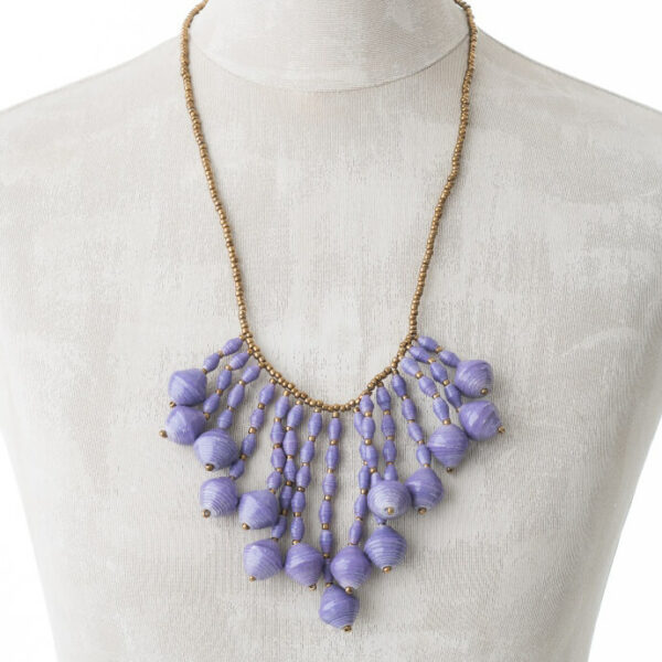 KALiARE-Kette Modell Mary in der Farbe Lavendel