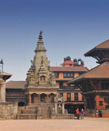 Durbar Square in Bhaktapur, Nepal